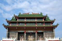 Traditional Chinese Folk Religion Temple